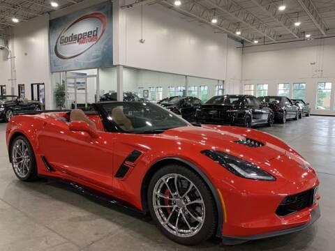 2017 Chevrolet Corvette for sale at Godspeed Motors in Charlotte NC