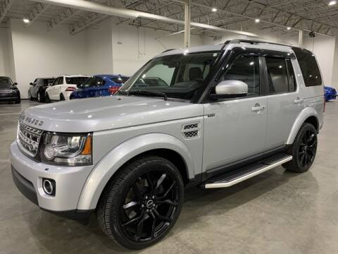 2016 Land Rover LR4 for sale at Godspeed Motors in Charlotte NC