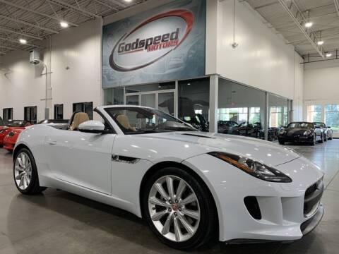 2017 Jaguar F-TYPE for sale at Godspeed Motors in Charlotte NC