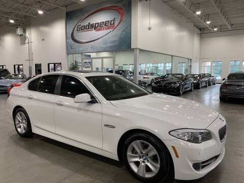 2013 BMW 5 Series for sale at Godspeed Motors in Charlotte NC