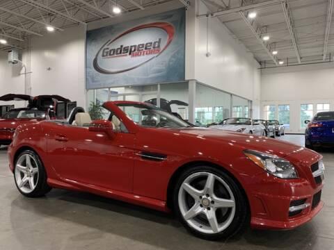 2012 Mercedes-Benz SLK for sale at Godspeed Motors in Charlotte NC