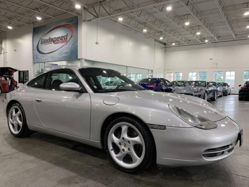 2001 Porsche 911 for sale at Godspeed Motors in Charlotte NC