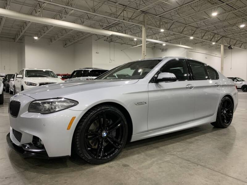 2015 BMW 5 Series for sale at Godspeed Motors in Charlotte NC