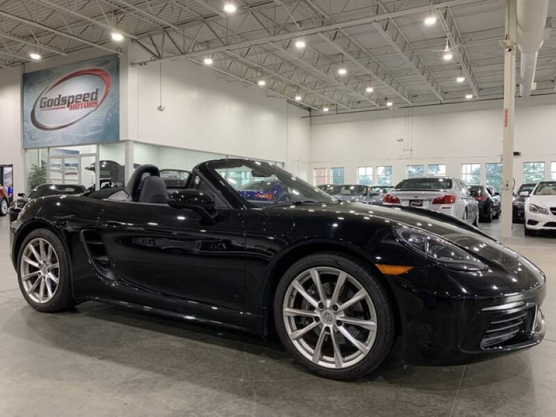2019 Porsche 718 Boxster for sale at Godspeed Motors in Charlotte NC