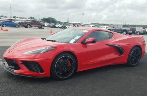 2020 Chevrolet Corvette for sale at Godspeed Motors in Charlotte NC