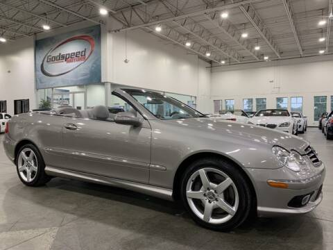 2005 Mercedes-Benz CLK for sale at Godspeed Motors in Charlotte NC