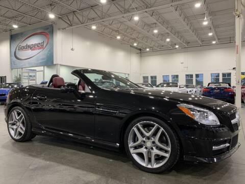 2015 Mercedes-Benz SLK for sale at Godspeed Motors in Charlotte NC