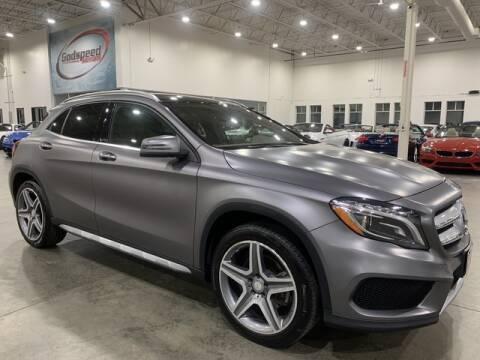2016 Mercedes-Benz GLA for sale at Godspeed Motors in Charlotte NC