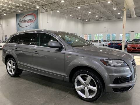 2013 Audi Q7 for sale at Godspeed Motors in Charlotte NC
