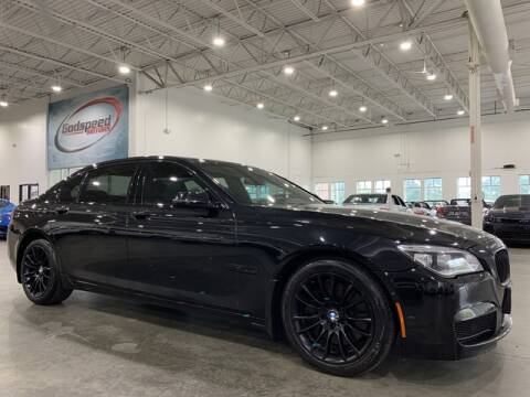 2013 BMW 7 Series for sale at Godspeed Motors in Charlotte NC