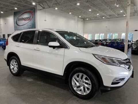 2016 Honda CR-V for sale at Godspeed Motors in Charlotte NC