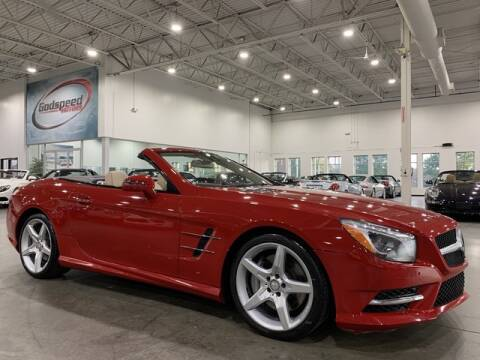 2014 Mercedes-Benz SL-Class for sale at Godspeed Motors in Charlotte NC