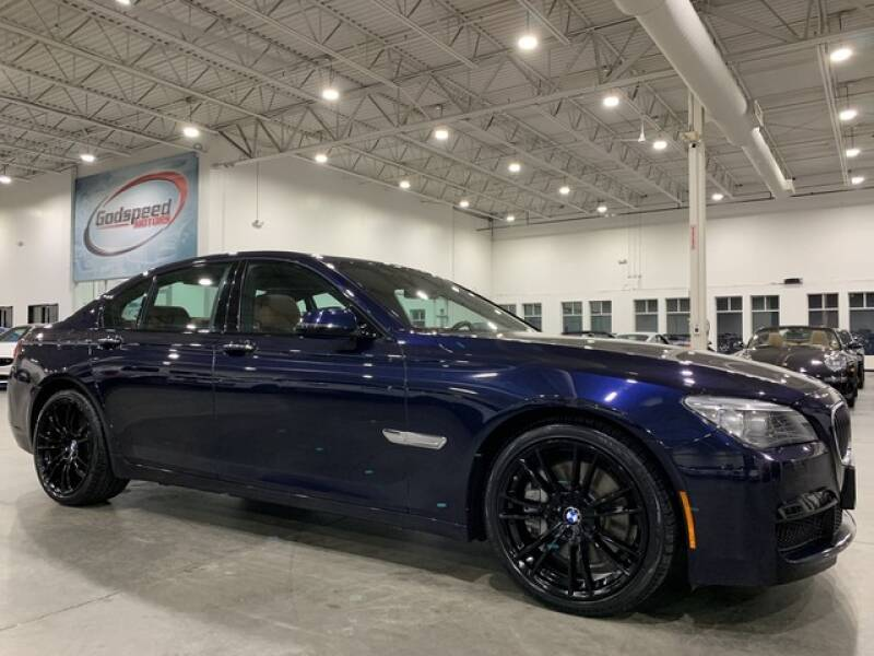 2014 BMW 7 Series for sale at Godspeed Motors in Charlotte NC