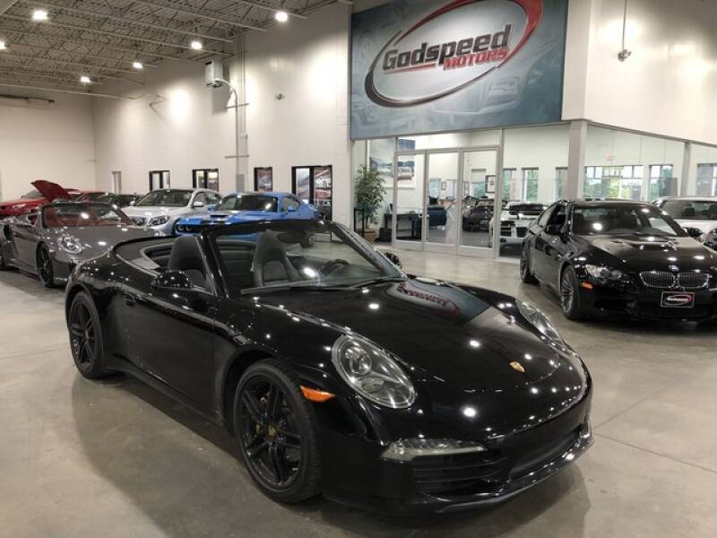 2013 Porsche 911 for sale at Godspeed Motors in Charlotte NC