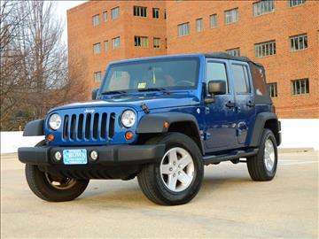 2010 Jeep Wrangler Unlimited for sale in Falls Church, VA