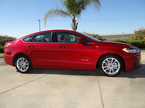 2019 Ford Fusion Hybrid for sale in Hanford, CA