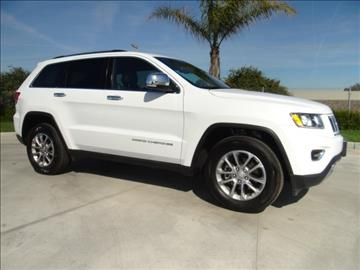 2016 Jeep Grand Cherokee for sale in Hanford, CA