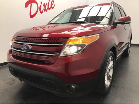 2014 Ford Explorer for sale at Dixie Motors in Fairfield OH