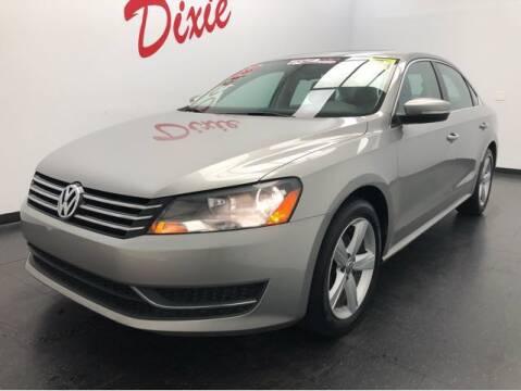 2013 Volkswagen Passat for sale at Dixie Motors in Fairfield OH