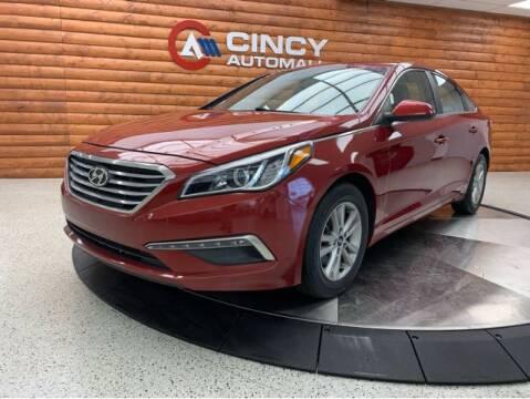 2015 Hyundai Sonata for sale at Dixie Motors in Fairfield OH