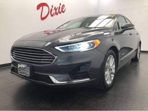 2019 Ford Fusion Hybrid for sale at Dixie Motors in Fairfield OH