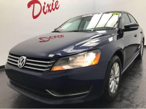 2015 Volkswagen Passat for sale at Dixie Motors in Fairfield OH