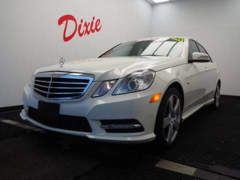 2012 Mercedes-Benz E-Class for sale at Dixie Motors in Fairfield OH