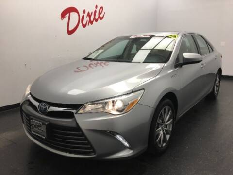2016 Toyota Camry Hybrid for sale at Dixie Motors in Fairfield OH