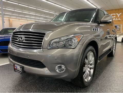 2014 Infiniti QX80 for sale at Dixie Motors in Fairfield OH