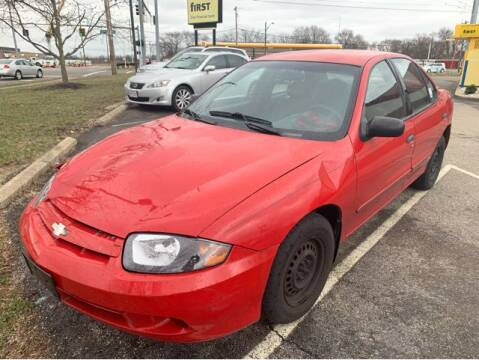 2004 Chevrolet Cavalier for sale at Dixie Motors in Fairfield OH