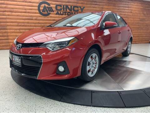 2016 Toyota Corolla for sale at Dixie Motors in Fairfield OH