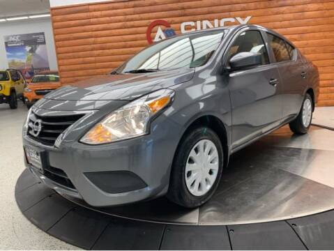 2019 Nissan Versa for sale at Dixie Motors in Fairfield OH