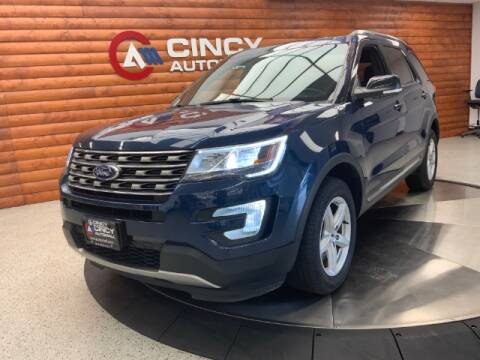 2017 Ford Explorer for sale at Dixie Motors in Fairfield OH