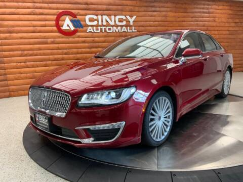 2017 Lincoln MKZ for sale at Dixie Motors in Fairfield OH