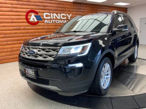 2018 Ford Explorer for sale at Dixie Motors in Fairfield OH