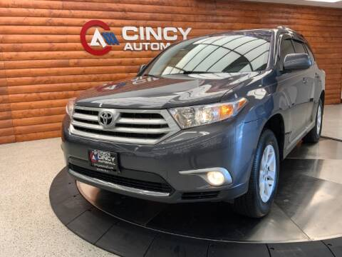 2013 Toyota Highlander for sale at Dixie Motors in Fairfield OH