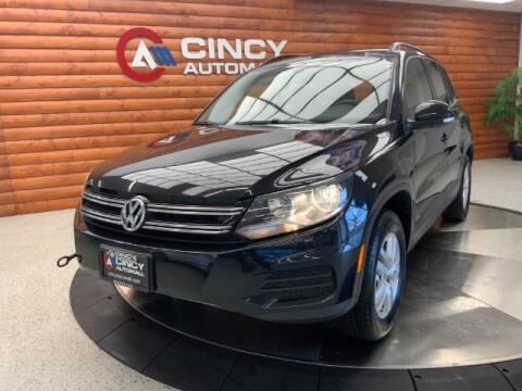 2016 Volkswagen Tiguan for sale at Dixie Motors in Fairfield OH