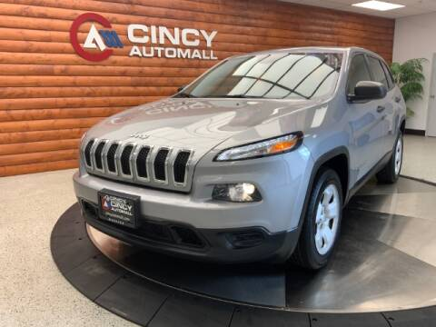 2017 Jeep Cherokee for sale at Dixie Motors in Fairfield OH