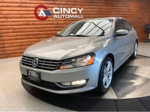 2012 Volkswagen Passat for sale at Dixie Motors in Fairfield OH