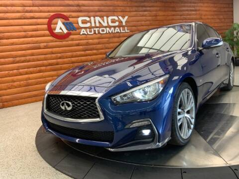 2018 Infiniti Q50 for sale at Dixie Motors in Fairfield OH
