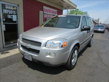 2007 Chevrolet Uplander for sale at Dixie Motors in Fairfield OH