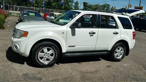 2008 Ford Escape for sale at Superior Motors in Mount Morris MI