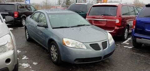 2007 Pontiac G6 for sale in Mount Morris, MI