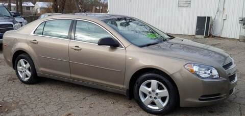 2008 Chevrolet Malibu for sale at Superior Motors in Mount Morris MI