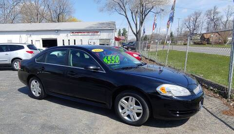 2014 Chevrolet Impala Limited for sale at Superior Motors in Mount Morris MI