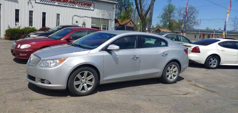 2011 Buick LaCrosse for sale at Superior Motors in Mount Morris MI
