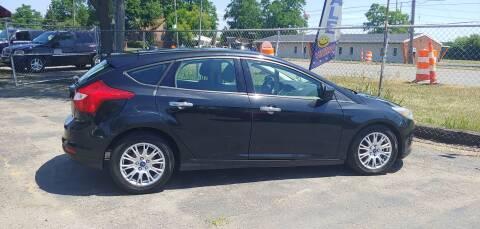 2012 Ford Focus for sale at Superior Motors in Mount Morris MI