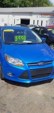 2013 Ford Focus for sale at Superior Motors in Mount Morris MI
