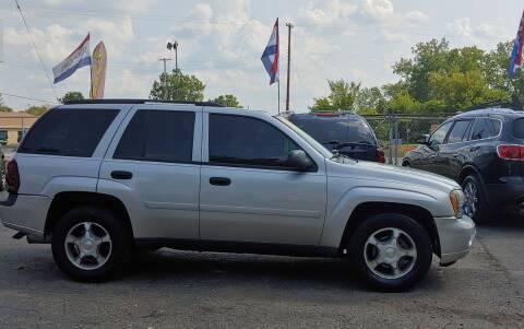 2008 Chevrolet TrailBlazer for sale at Superior Motors in Mount Morris MI