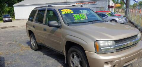 2007 Chevrolet TrailBlazer for sale at Superior Motors in Mount Morris MI